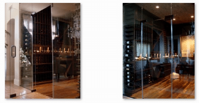 Wine Cellar Doors and Wine Barrel Flooring