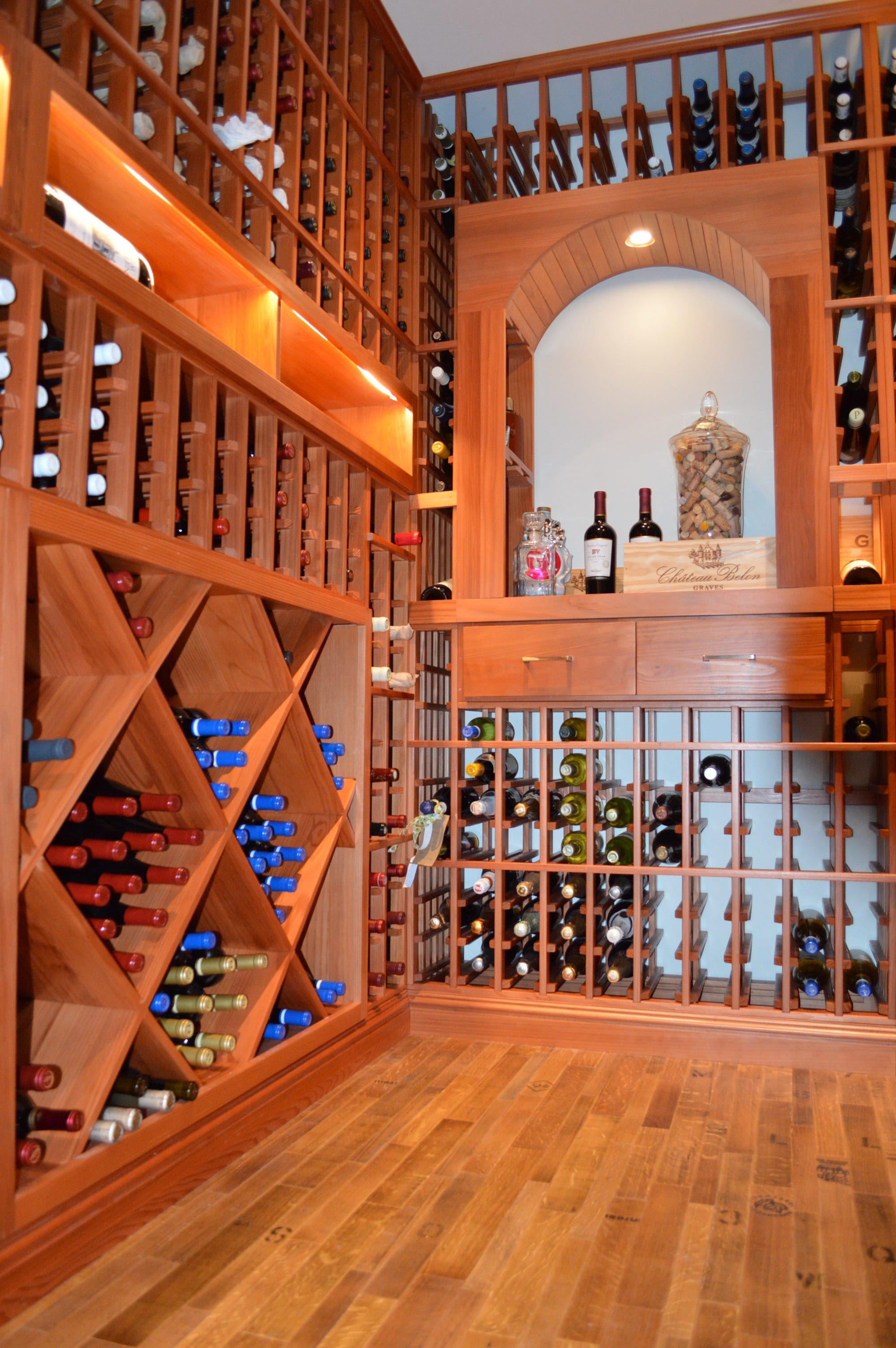 Flooring Options For A Distinct Custom Wine Cellar Design