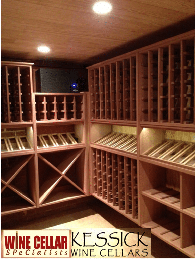 Choosing modular wine racks for your custom wine cellar for How to make a wine cellar rack