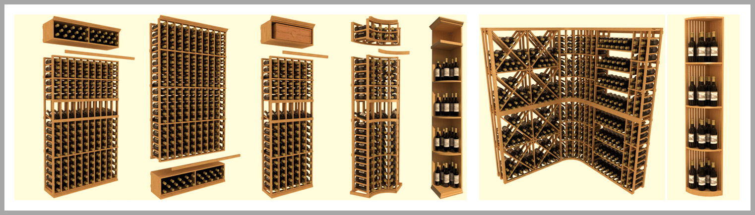 Get your free wine cellar design from Wine Cellar Spec & Choosing Modular Wine Racks for Your Custom Wine Cellar