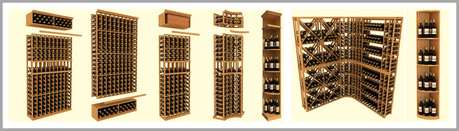 get your free wine cellar design from wine cellar spec - Wooden Wine Rack