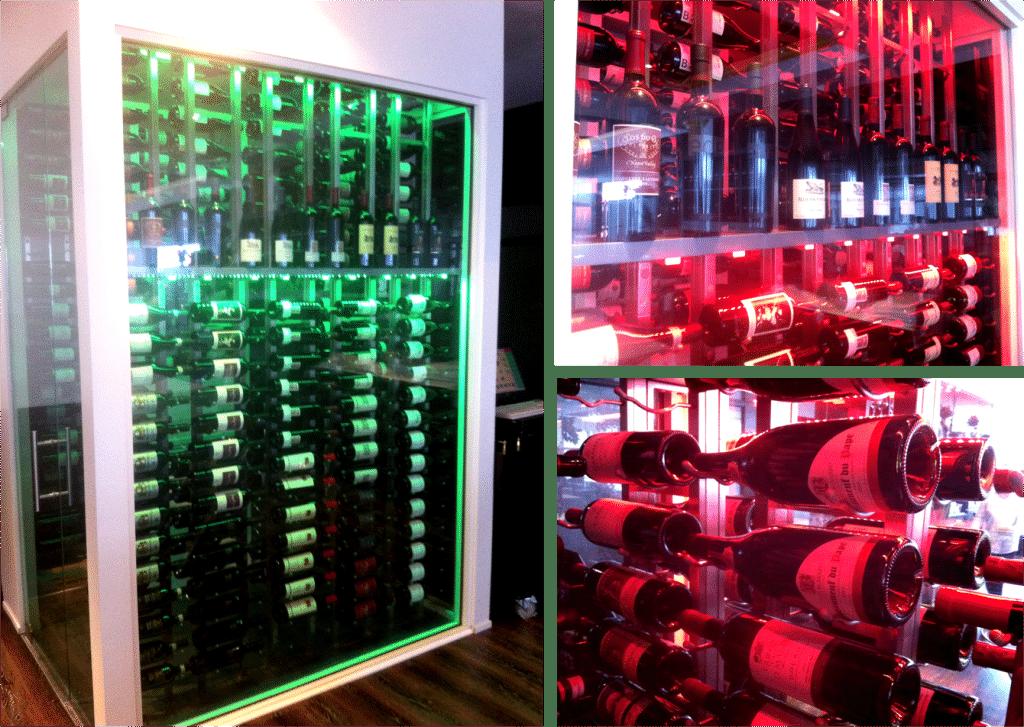 Salam Bombay metal wine racking