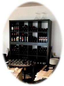 Salam Bombay old wine racks