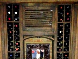 Wine Cellar Cooling System Grilled Cover