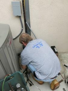 Yorba Linda Wine Cellar Cooling System Installation