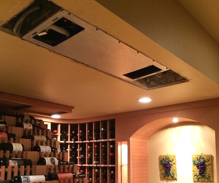 wine cellar refrigeration unit