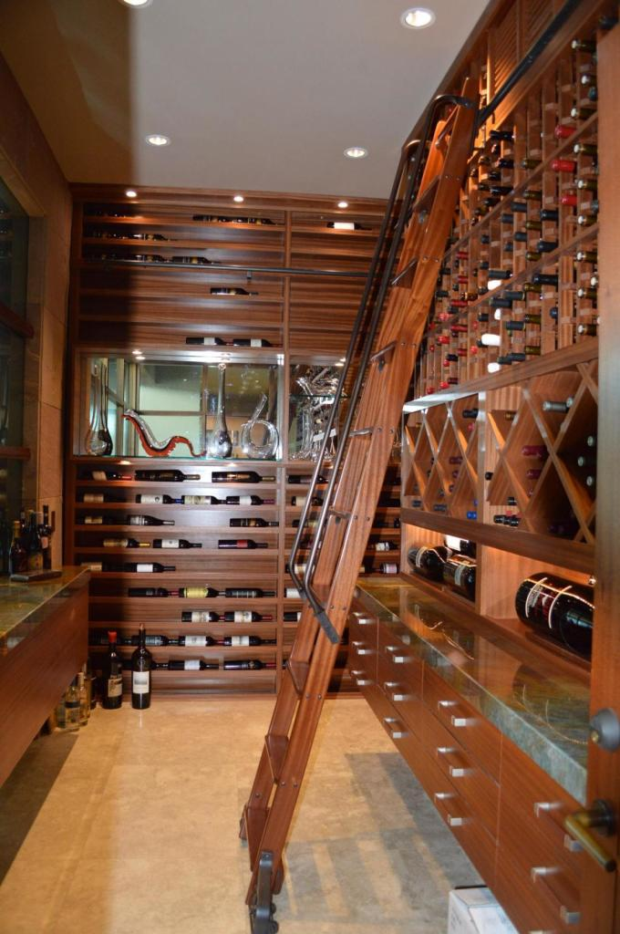 Modern San Francisco Home Wine Cellar Design