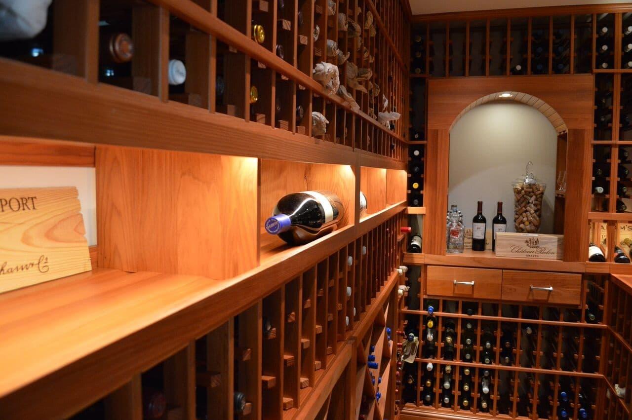 Residential Custom Wine Cellar Construction Project - Home wine cellar design