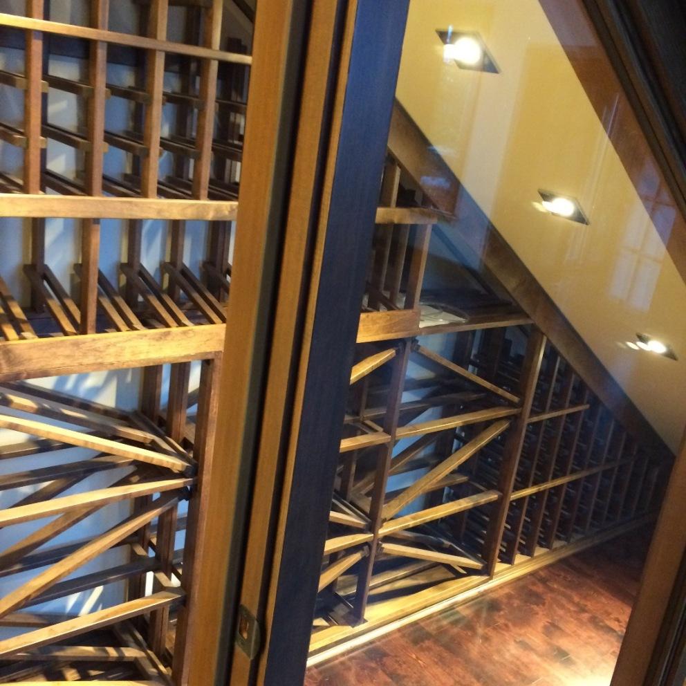 More wine cellar lighting options here!