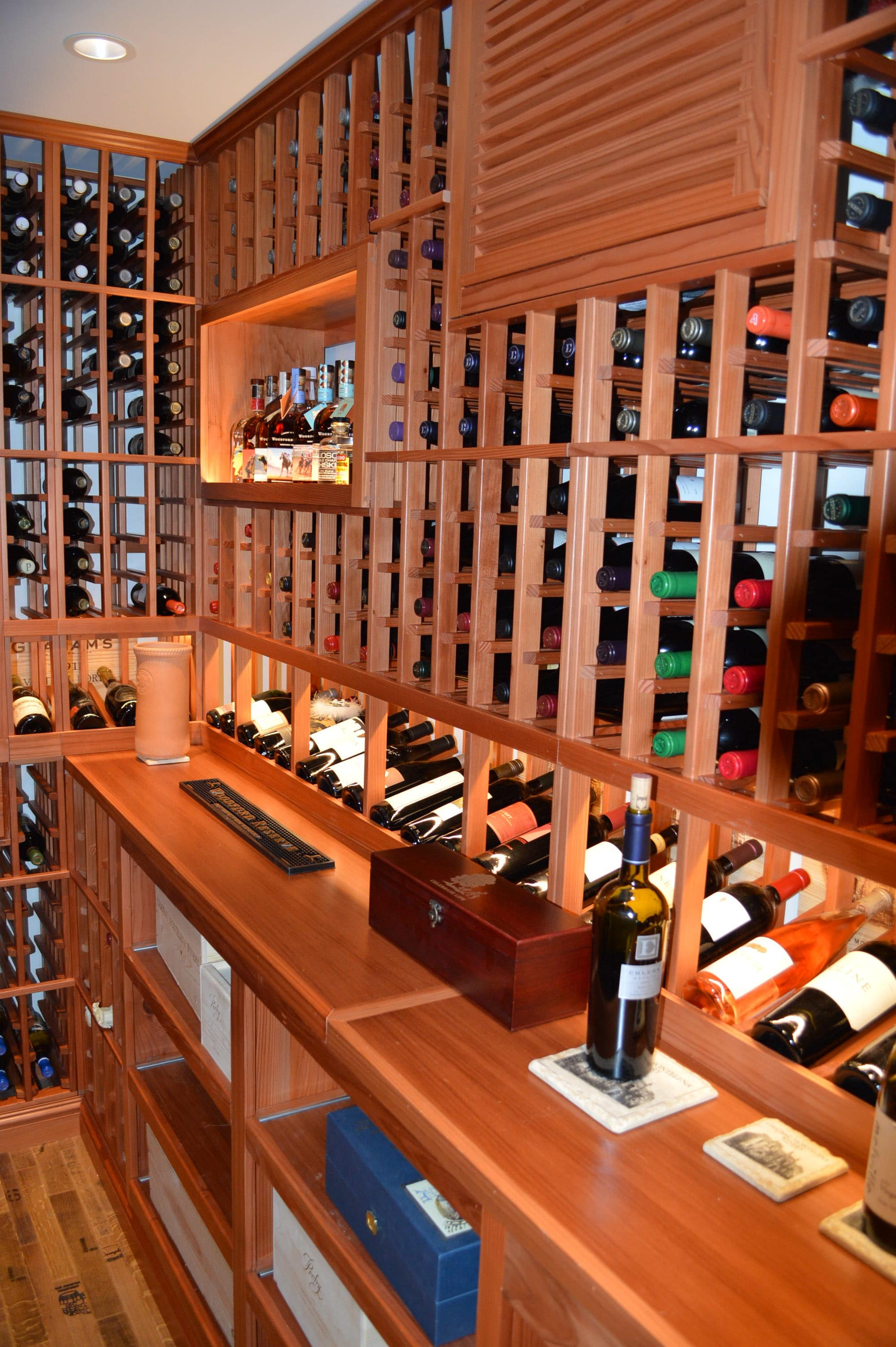 Home Wine Cellar Construction Project In San Francisco - Home wine cellar design