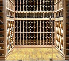See more images from this wine cellar project in St. Louis, Missouri