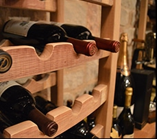 Learn more about this residential wine cellar project constructed with reclaimed wine barrels