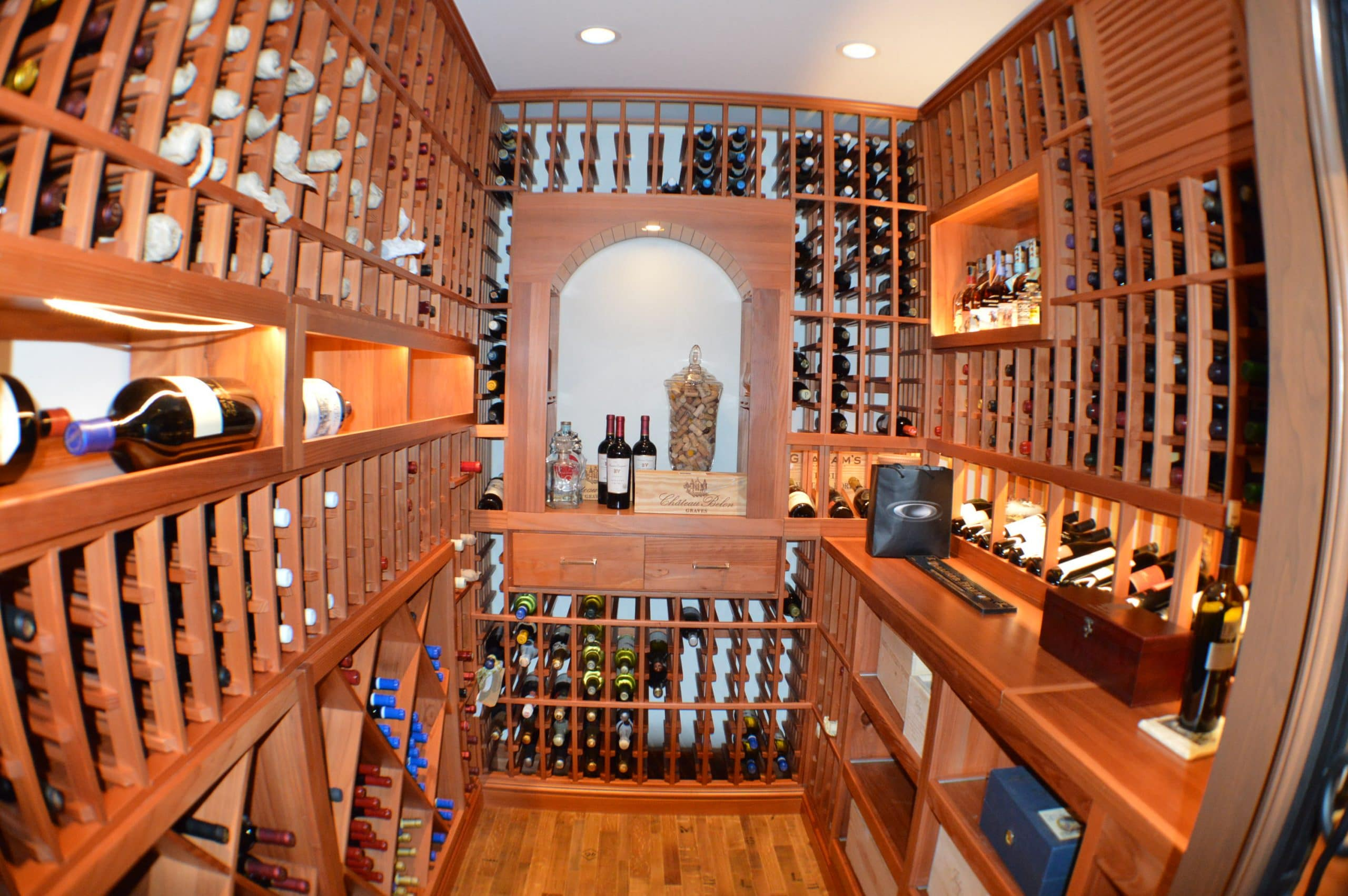 home wine cellar construction project in san francisco. Black Bedroom Furniture Sets. Home Design Ideas
