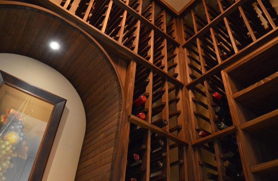 Contractors Convert A Closet Into A Custom Wine Cellar In San Francisco