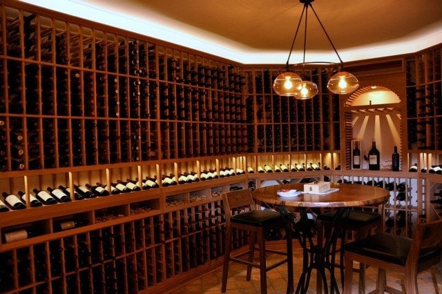 Wine room lighting lighting ideas for Wine cellar lighting ideas