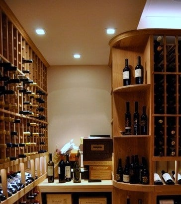 click for a larger image cellar lighting