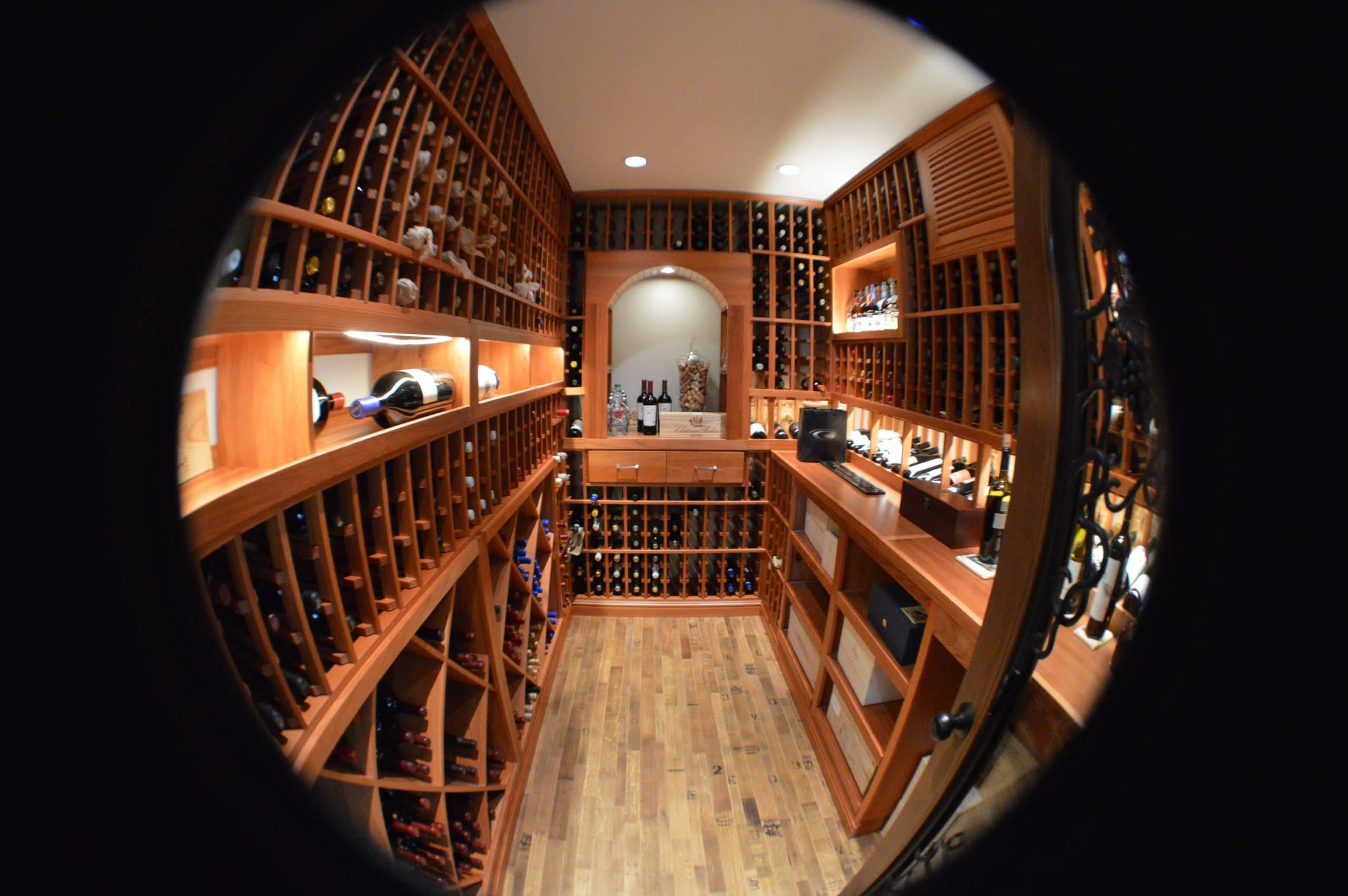 Cellar Lights And Lamps That Increase The Value Of A Wine Room