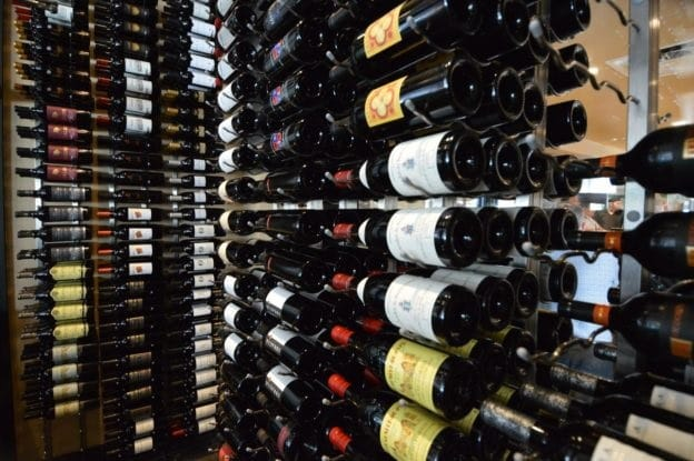 Contemporary Style Commercial Wine Cellar Installation In