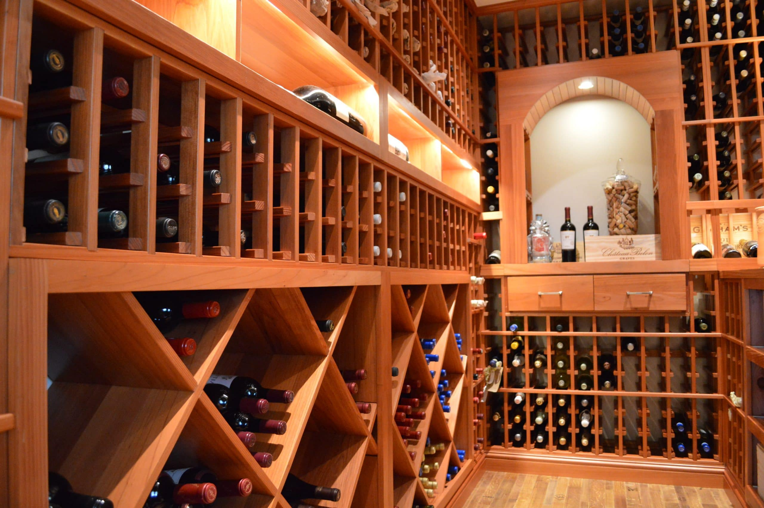 Best Wood Materials For San Francisco Custom Wine Racks