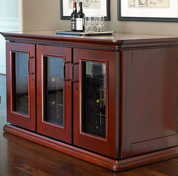 Wine cabinets for homes and commercial establishments in san francisco - Quality kitchen cabinets san francisco ...
