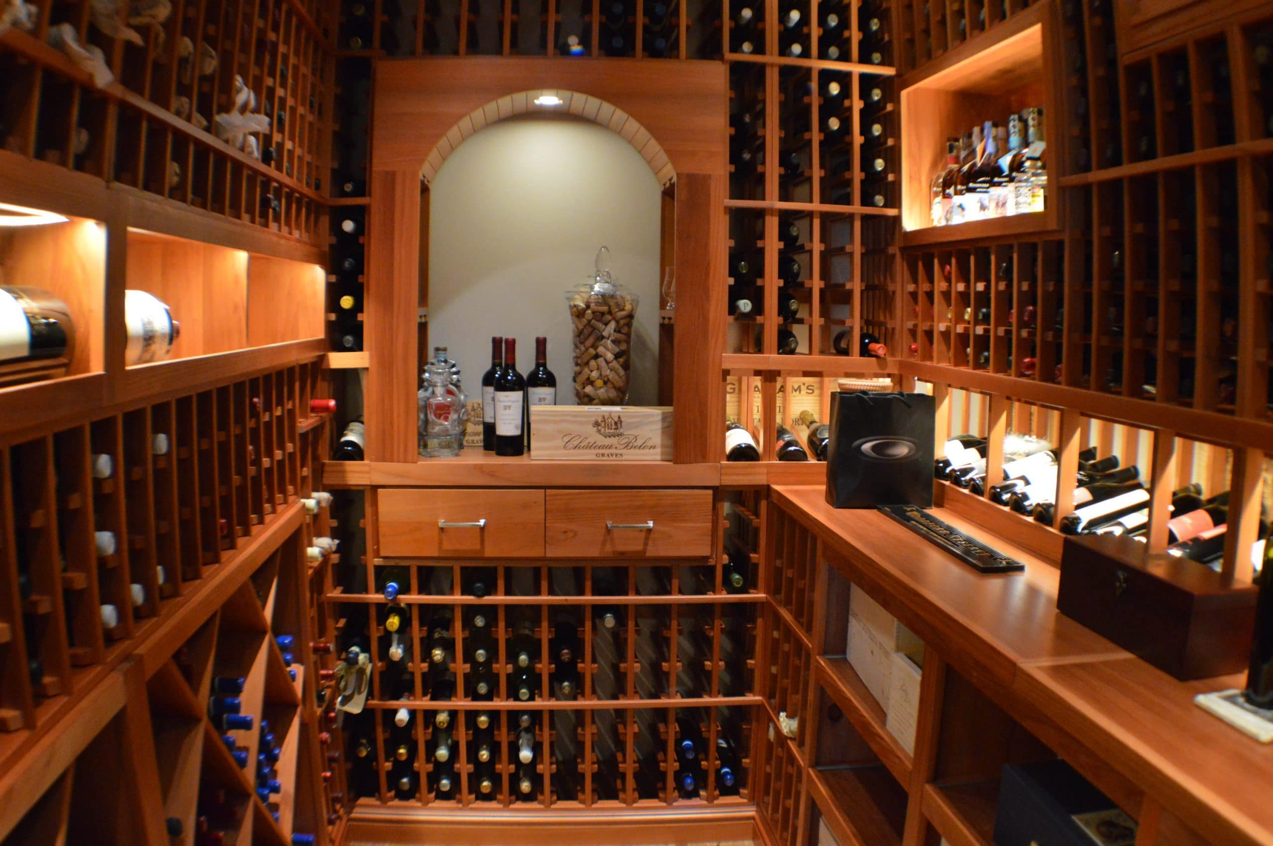 Pleasing 70 home wine cellar closet design decoration of for Small basement wine cellar