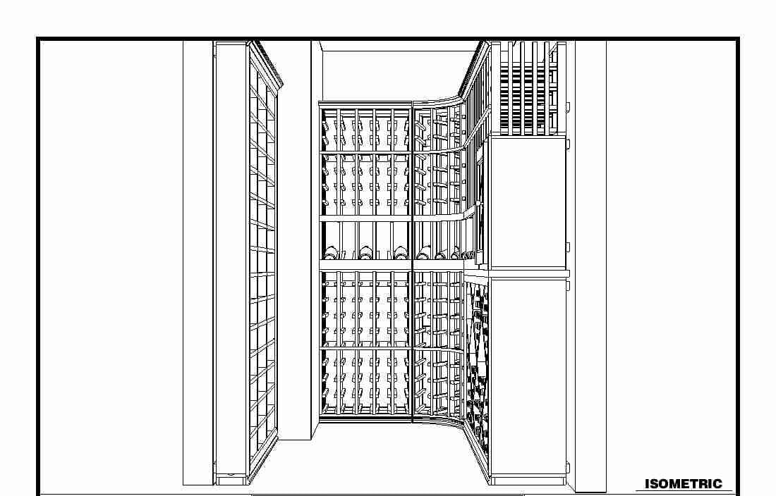 Converting an unused empty space under the stairs into a - Wine cellar designs for small spaces ...