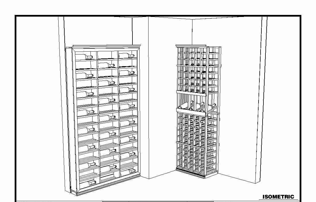 FREE 3D wine cellar design here!