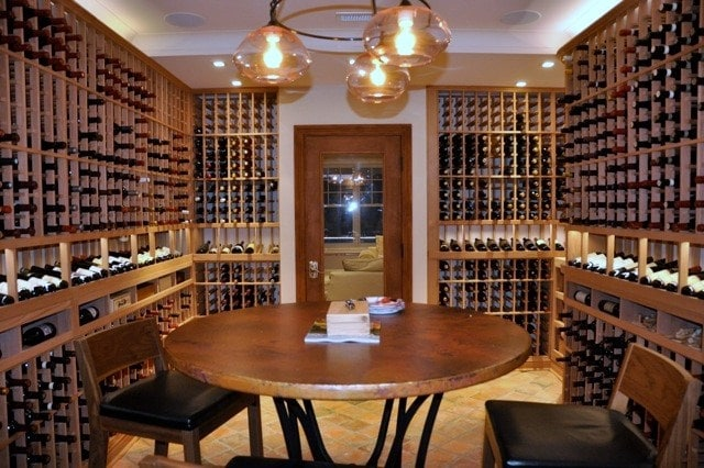 Cellar Design Ideas Gorgeous Residential Wine Room In