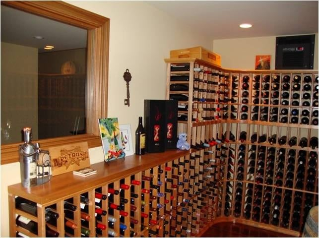 Get your own wine cellar designed here!