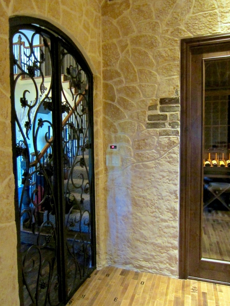 Custom Wine Cellar Doors Manufactured by San Francisco California Experts