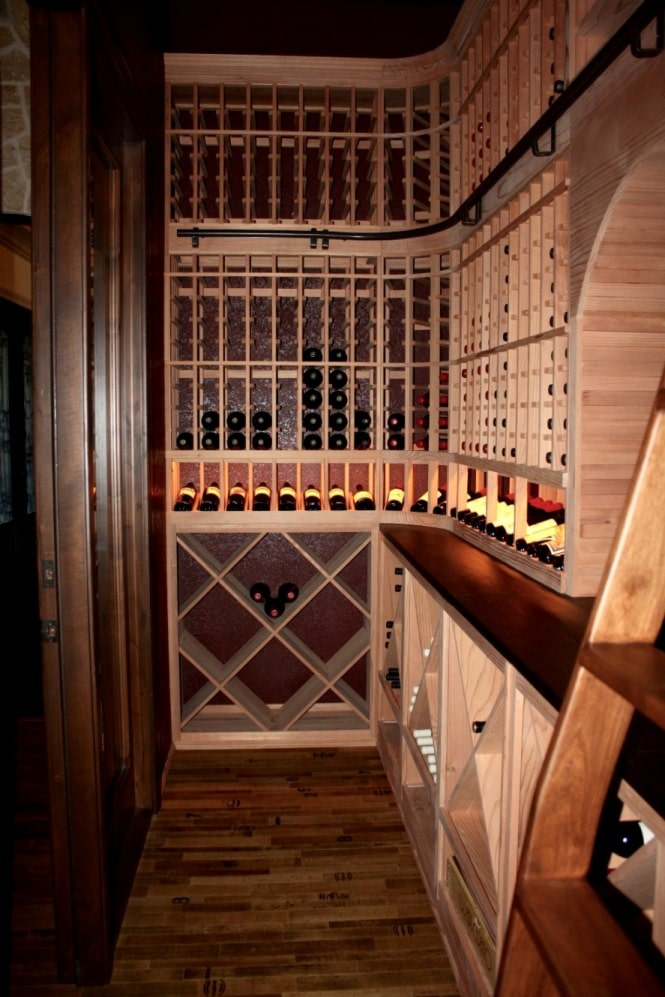 Home Wine Cellar Installation Project by San Francisco Builders