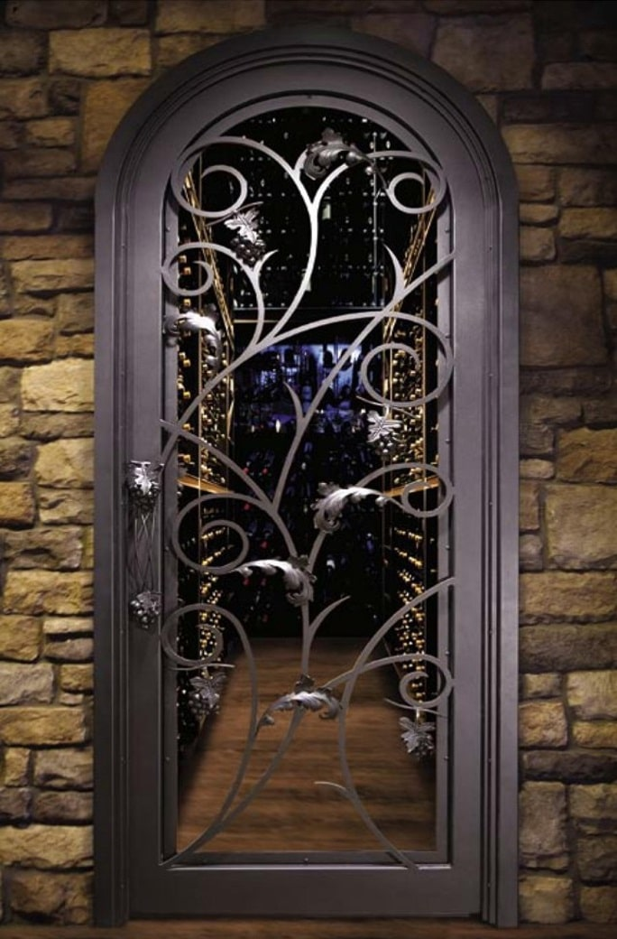 The entryway to your wine casa sets the mood on what to expect inside the cellar. Aesthetically you need to make sure that the door is designed to match ... & An Assortment of Top-Grade Doors for Wine Cellars in San Francisco