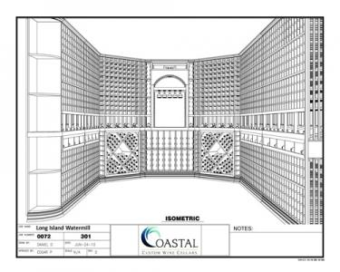 Exceptional Custom Wine Racks for a Large Wine Cellar Designed by Presidio Heights Builders